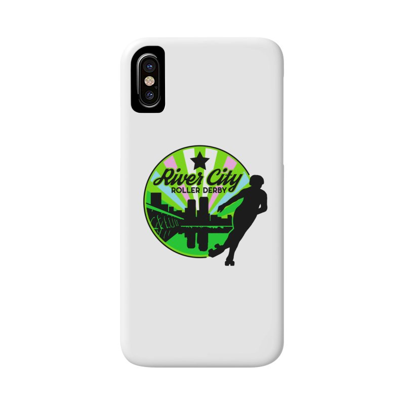 2019 Trans Pride! Accessories Phone Case by River City Roller Derby's Artist Shop