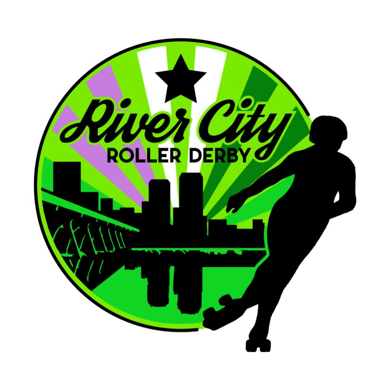 2019 Genderqueer Pride! Accessories Sticker by River City Roller Derby's Artist Shop