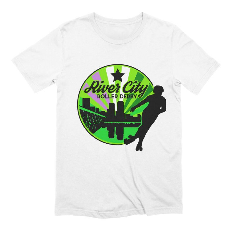 2019 Genderqueer Pride! Men's Extra Soft T-Shirt by River City Roller Derby's Artist Shop