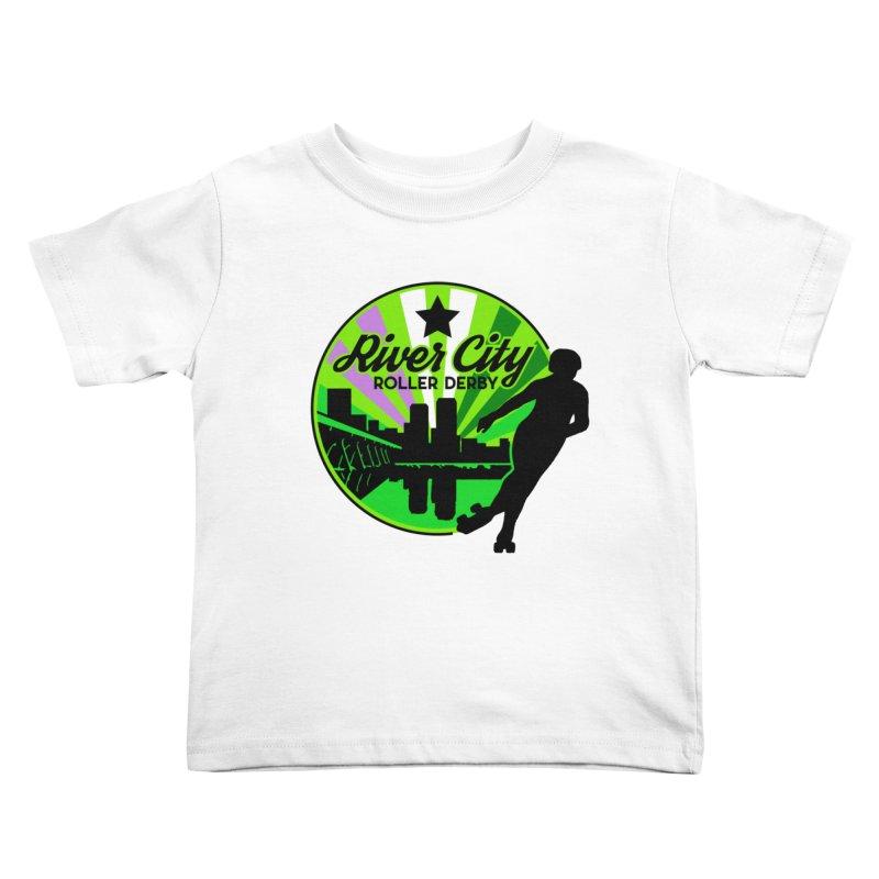 2019 Genderqueer Pride! Kids Toddler T-Shirt by River City Roller Derby's Artist Shop