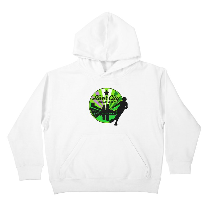2019 Genderqueer Pride! Kids Pullover Hoody by River City Roller Derby's Artist Shop