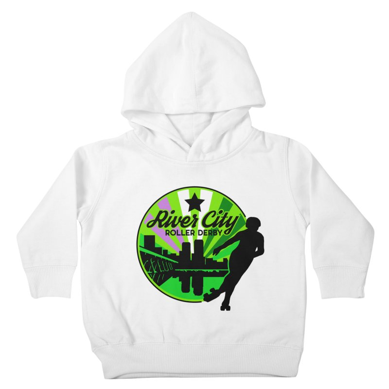 2019 Genderqueer Pride! Kids Toddler Pullover Hoody by River City Roller Derby's Artist Shop