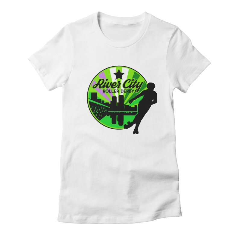 2019 Genderqueer Pride! Women's T-Shirt by River City Roller Derby's Artist Shop
