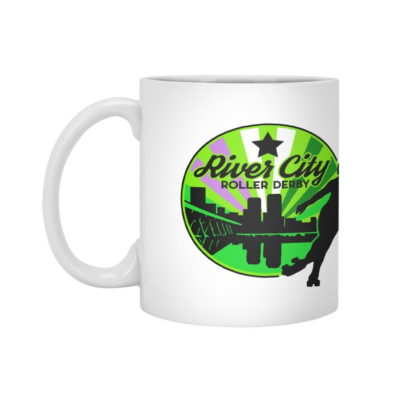 2019 Genderqueer Pride! Accessories Mug by River City Roller Derby's Artist Shop