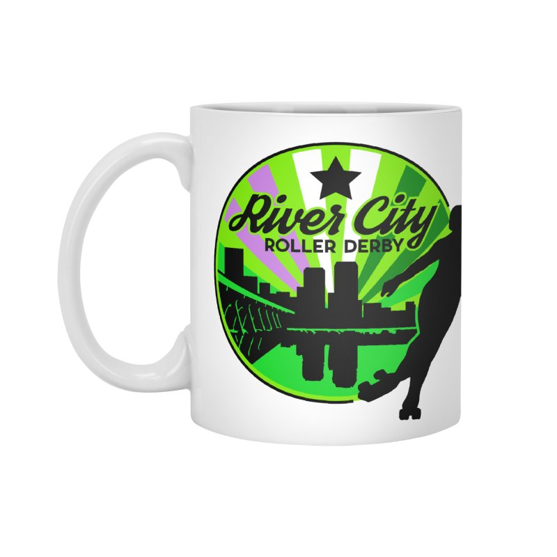 2019 Genderqueer Pride! Accessories Standard Mug by River City Roller Derby's Artist Shop