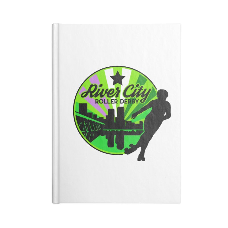 2019 Genderqueer Pride! Accessories Notebook by River City Roller Derby's Artist Shop