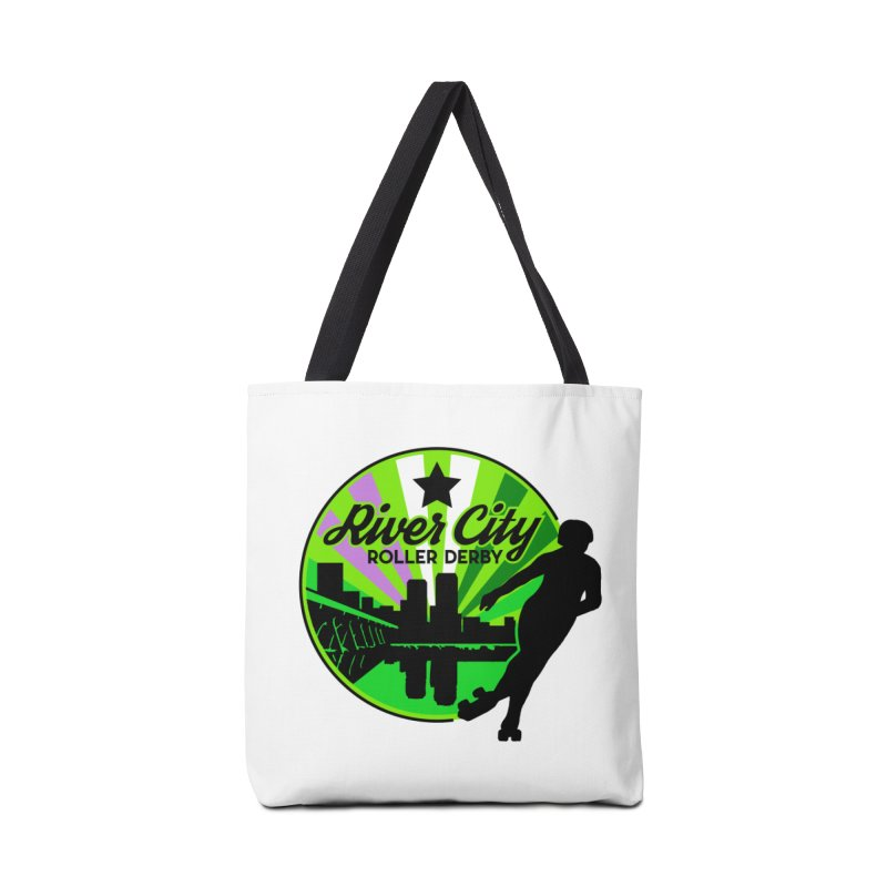 2019 Genderqueer Pride! Accessories Tote Bag Bag by River City Roller Derby's Artist Shop