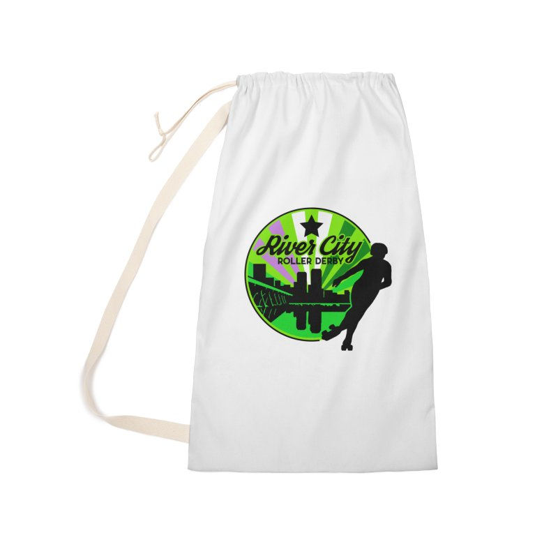 2019 Genderqueer Pride! Accessories Laundry Bag Bag by River City Roller Derby's Artist Shop