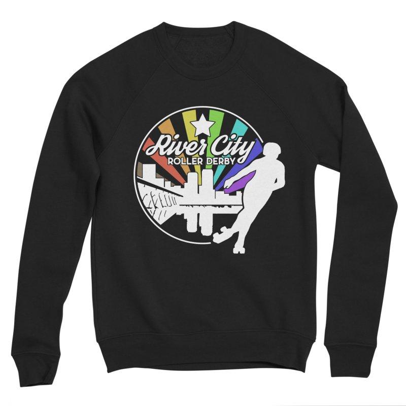 2019 Pride (alt) Women's Sponge Fleece Sweatshirt by River City Roller Derby's Artist Shop