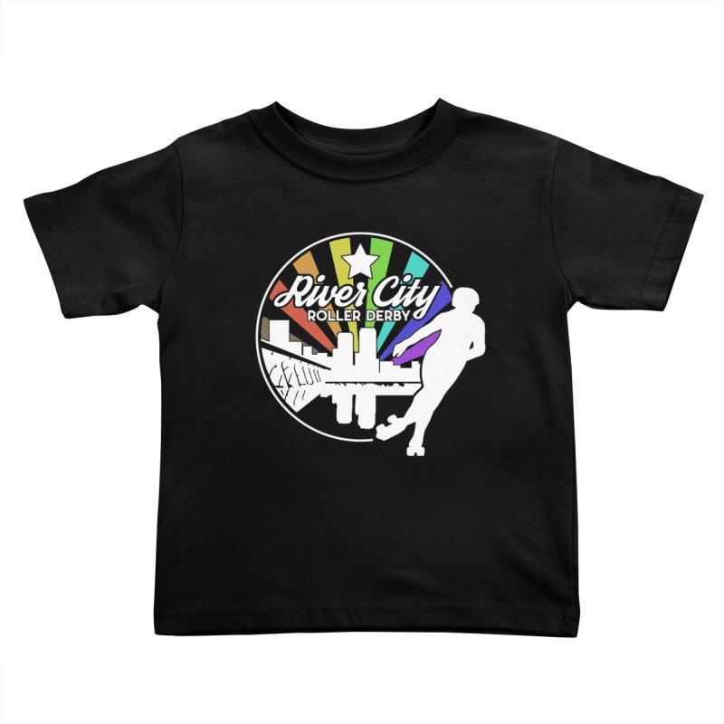 2019 Pride (alt) Kids Toddler T-Shirt by River City Roller Derby's Artist Shop