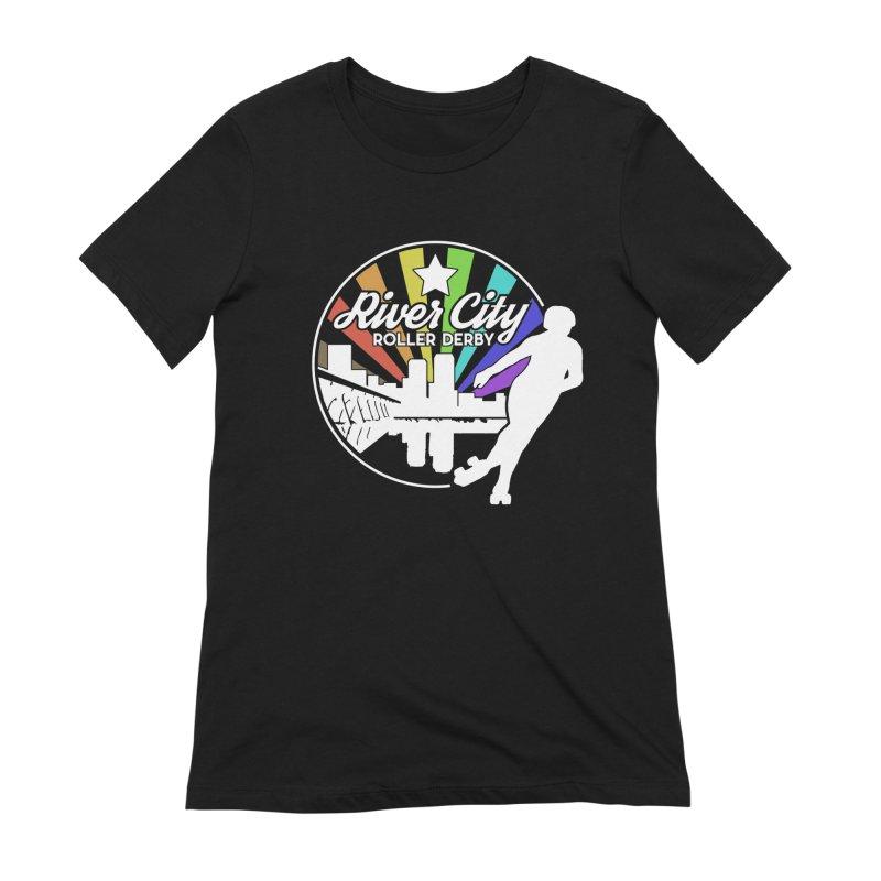 2019 Pride (alt) Women's T-Shirt by River City Roller Derby's Artist Shop