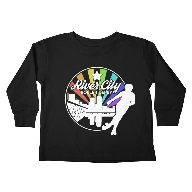 2019 Pride (alt) Kids Toddler Longsleeve T-Shirt by River City Roller Derby's Artist Shop
