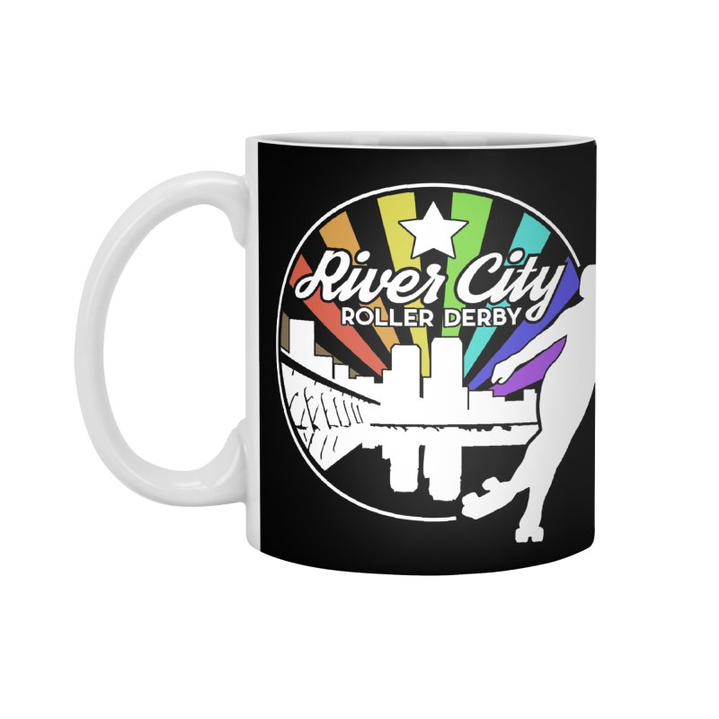 2019 Pride (alt) Accessories Standard Mug by River City Roller Derby's Artist Shop