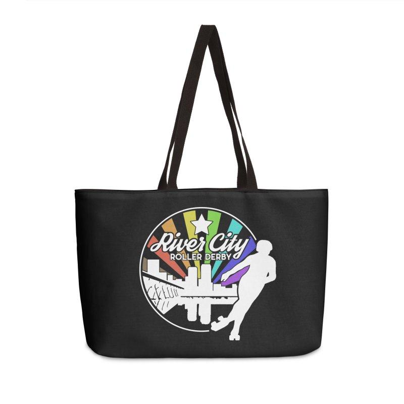 2019 Pride (alt) Accessories Weekender Bag Bag by River City Roller Derby's Artist Shop