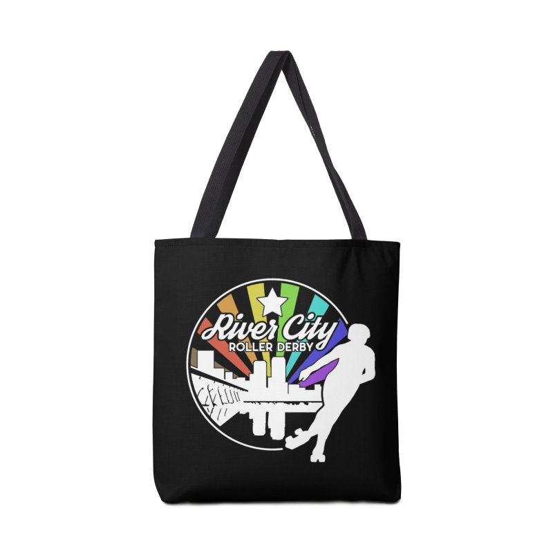 2019 Pride (alt) Accessories Tote Bag Bag by River City Roller Derby's Artist Shop