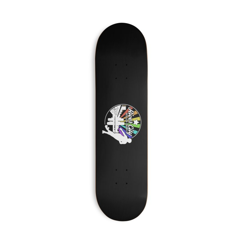 2019 Pride (alt) Accessories Deck Only Skateboard by River City Roller Derby's Artist Shop