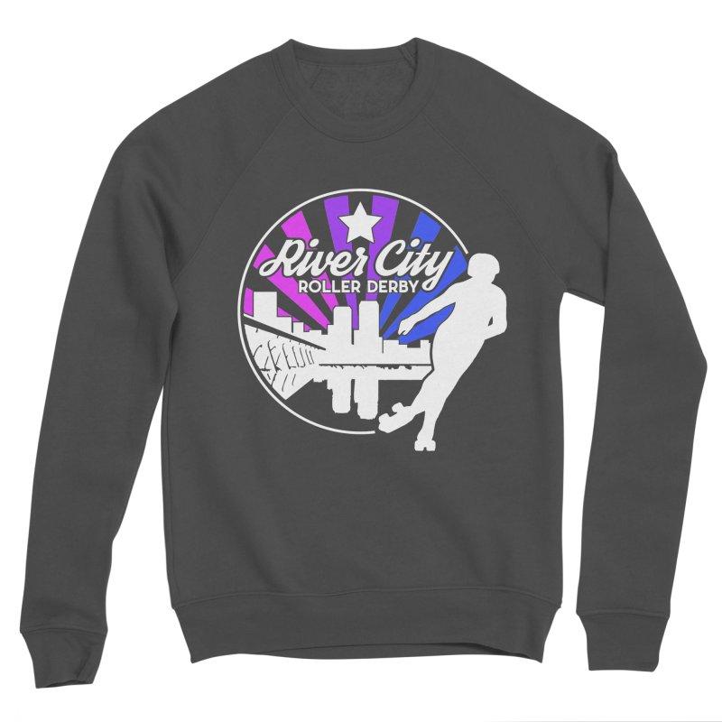 2019 Bi Pride (alt) Women's Sponge Fleece Sweatshirt by River City Roller Derby's Artist Shop