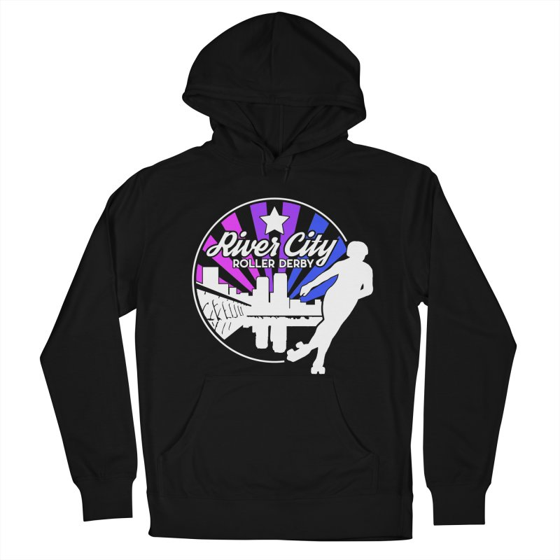 2019 Bi Pride (alt) Women's French Terry Pullover Hoody by River City Roller Derby's Artist Shop