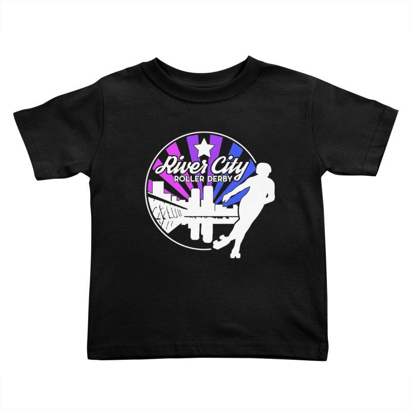 2019 Bi Pride (alt) Kids Toddler T-Shirt by River City Roller Derby's Artist Shop