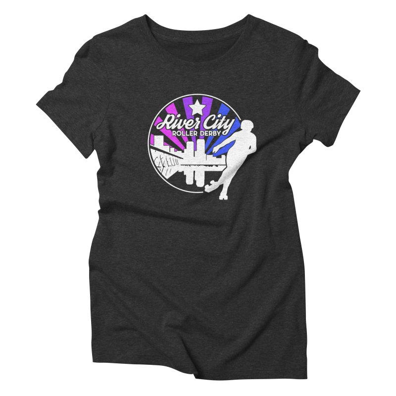 2019 Bi Pride (alt) Women's Triblend T-Shirt by River City Roller Derby's Artist Shop