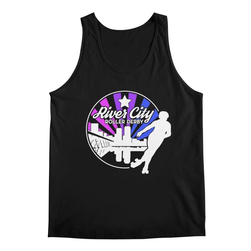 2019 Bi Pride (alt) Men's Regular Tank by River City Roller Derby's Artist Shop
