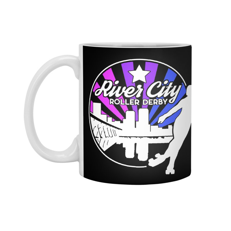 2019 Bi Pride (alt) Accessories Standard Mug by River City Roller Derby's Artist Shop