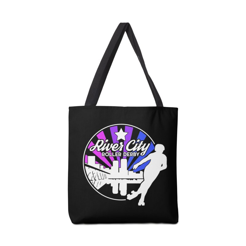 2019 Bi Pride (alt) Accessories Tote Bag Bag by River City Roller Derby's Artist Shop