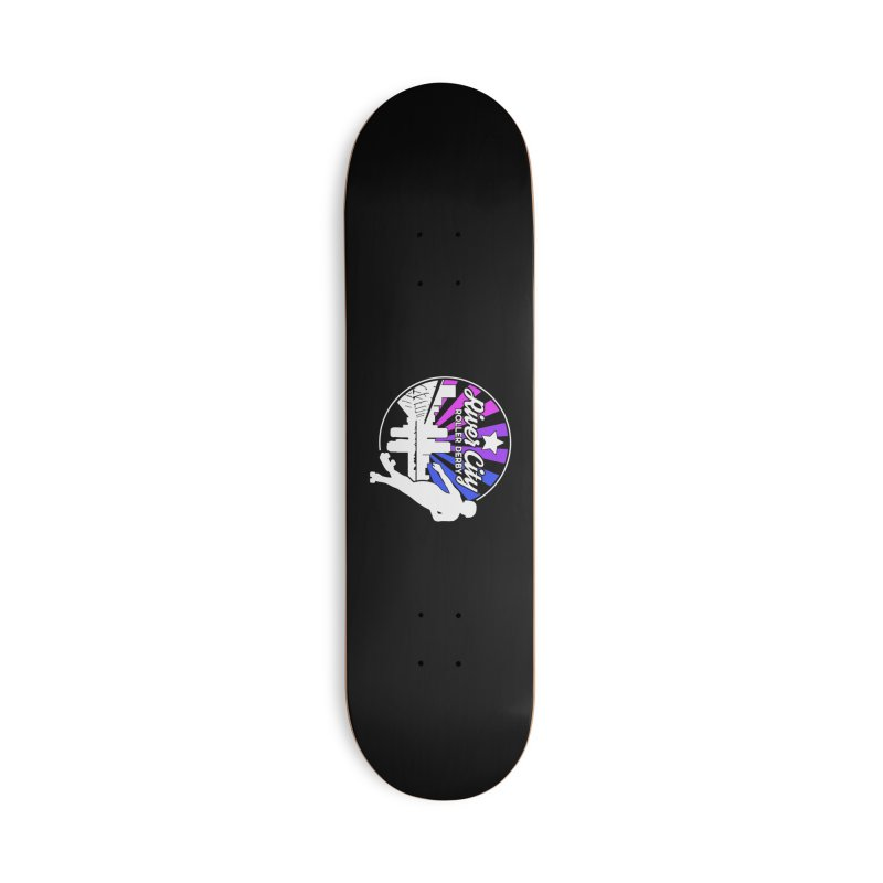 2019 Bi Pride (alt) Accessories Deck Only Skateboard by River City Roller Derby's Artist Shop