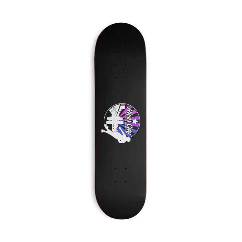 2019 Bi Pride (alt) Accessories Skateboard by River City Roller Derby's Artist Shop