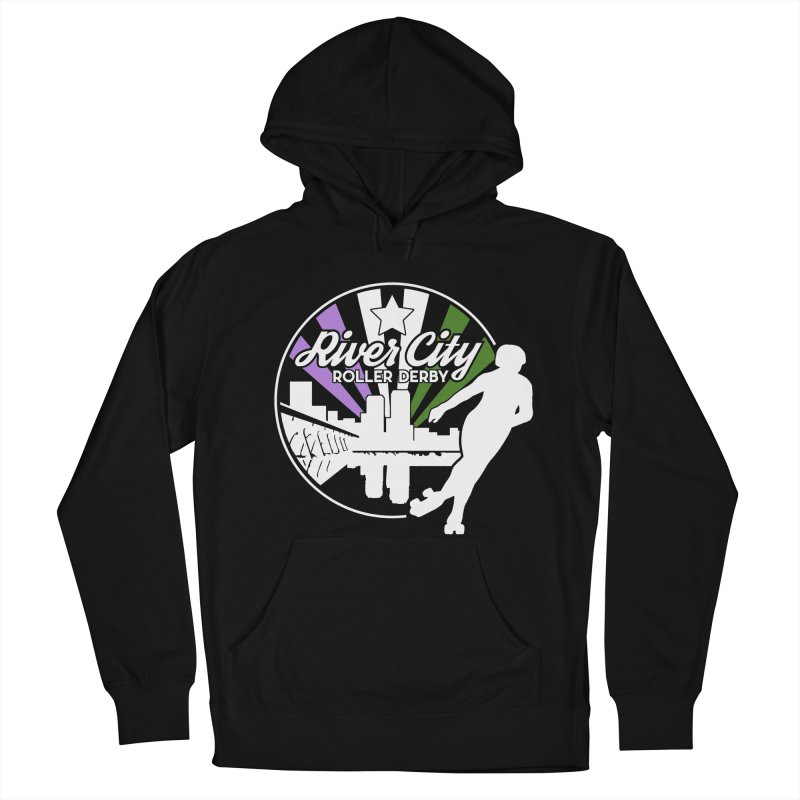 2019 Genderqueer Pride (alt) Men's French Terry Pullover Hoody by River City Roller Derby's Artist Shop