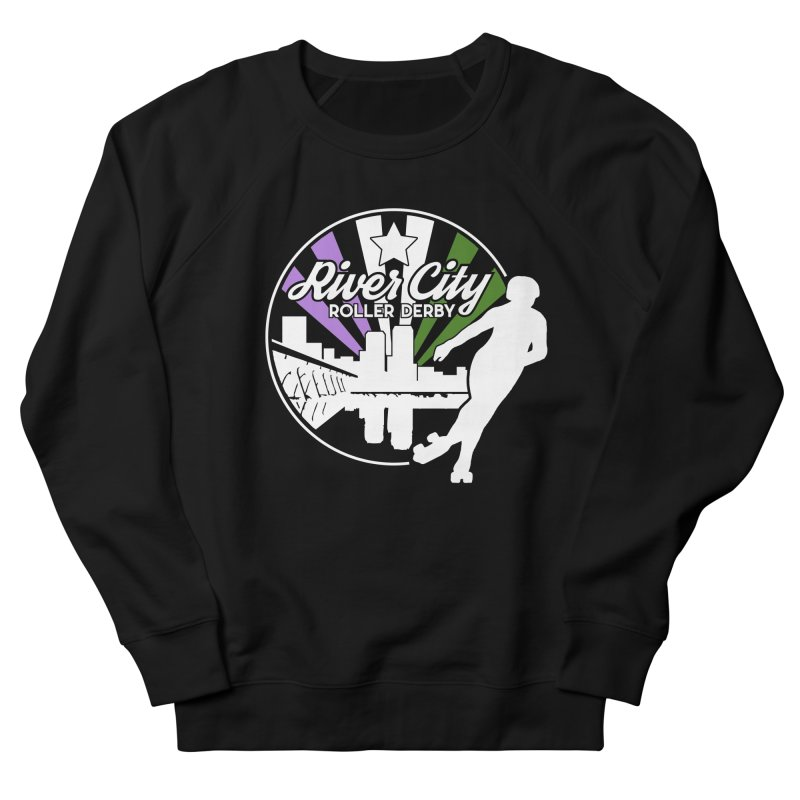 2019 Genderqueer Pride (alt) Men's French Terry Sweatshirt by River City Roller Derby's Artist Shop