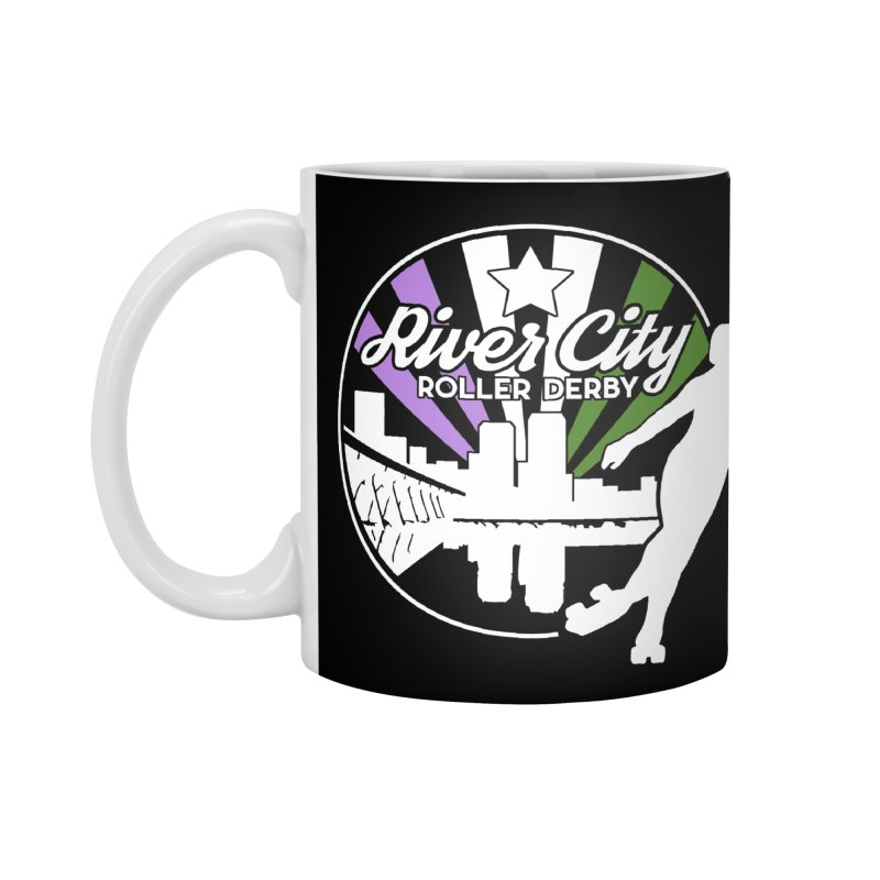 2019 Genderqueer Pride (alt) Accessories Standard Mug by River City Roller Derby's Artist Shop