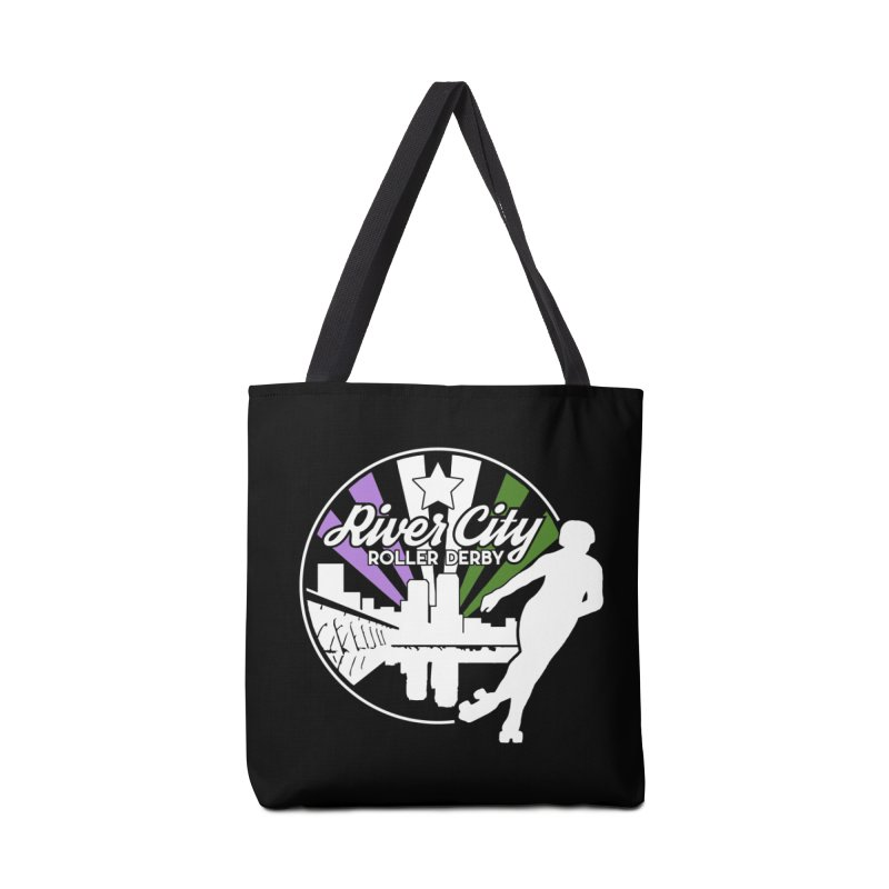 2019 Genderqueer Pride (alt) Accessories Tote Bag Bag by River City Roller Derby's Artist Shop
