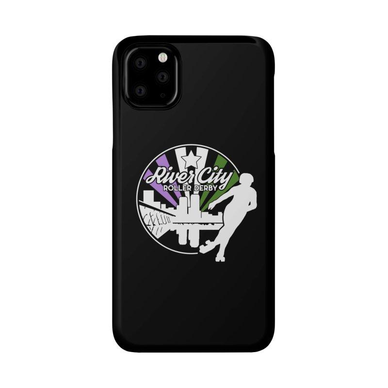 2019 Genderqueer Pride (alt) Accessories Phone Case by River City Roller Derby's Artist Shop