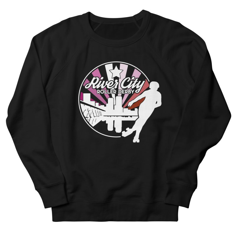 2019 Lesbian pride (alt) Men's French Terry Sweatshirt by River City Roller Derby's Artist Shop