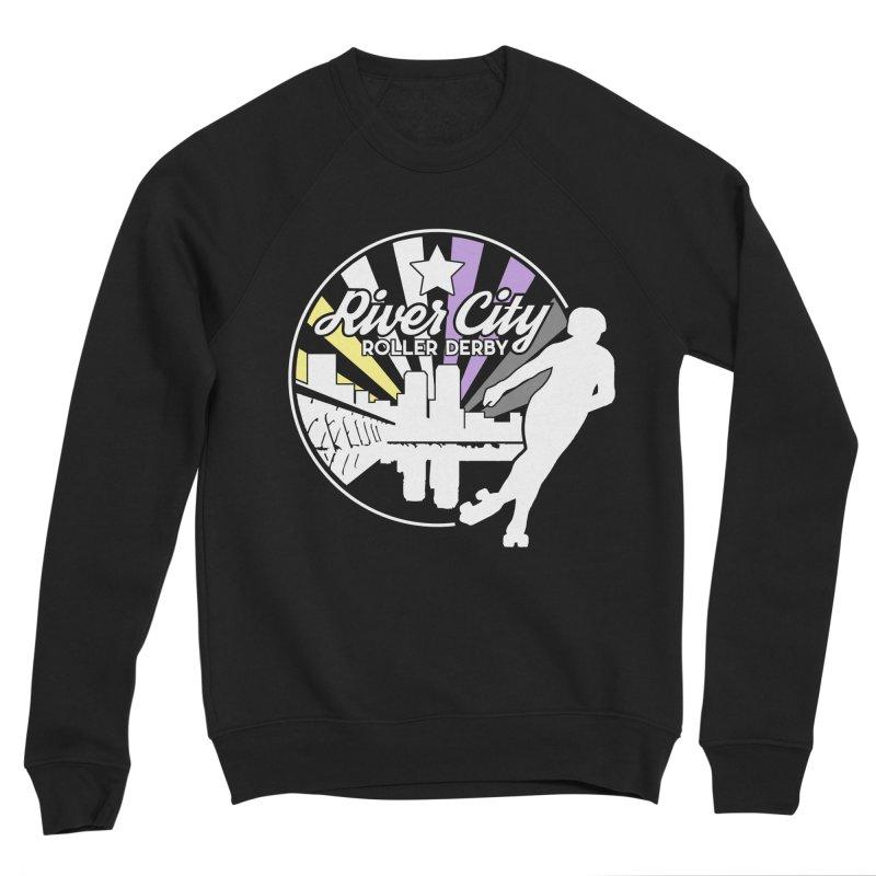 2019 Nonbinary Pride (alt) Women's Sponge Fleece Sweatshirt by River City Roller Derby's Artist Shop