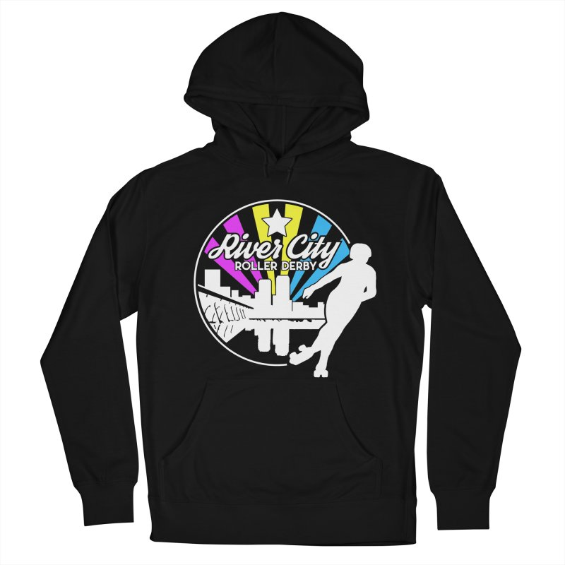 2019 Pansexual Pride (alt) Men's French Terry Pullover Hoody by River City Roller Derby's Artist Shop