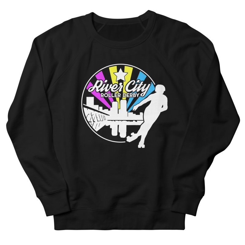 2019 Pansexual Pride (alt) Men's French Terry Sweatshirt by River City Roller Derby's Artist Shop