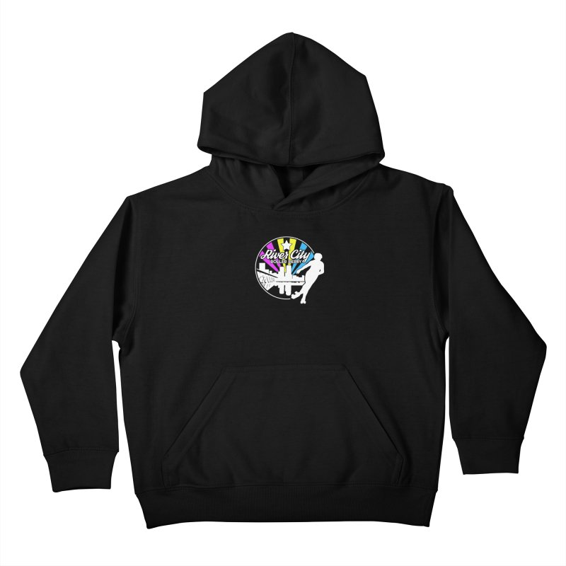 2019 Pansexual Pride (alt) Kids Pullover Hoody by River City Roller Derby's Artist Shop