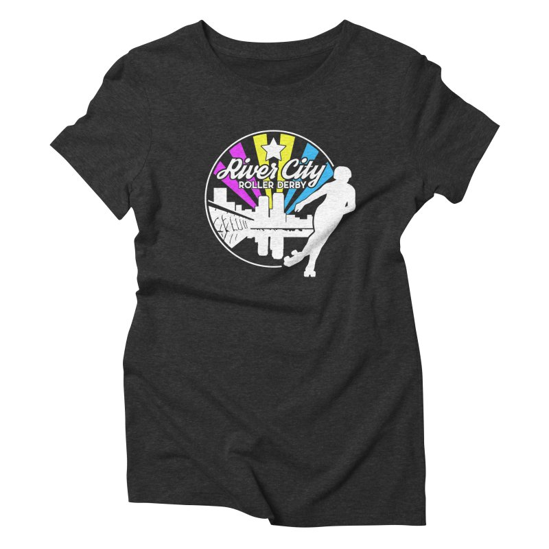 2019 Pansexual Pride (alt) Women's Triblend T-Shirt by River City Roller Derby's Artist Shop