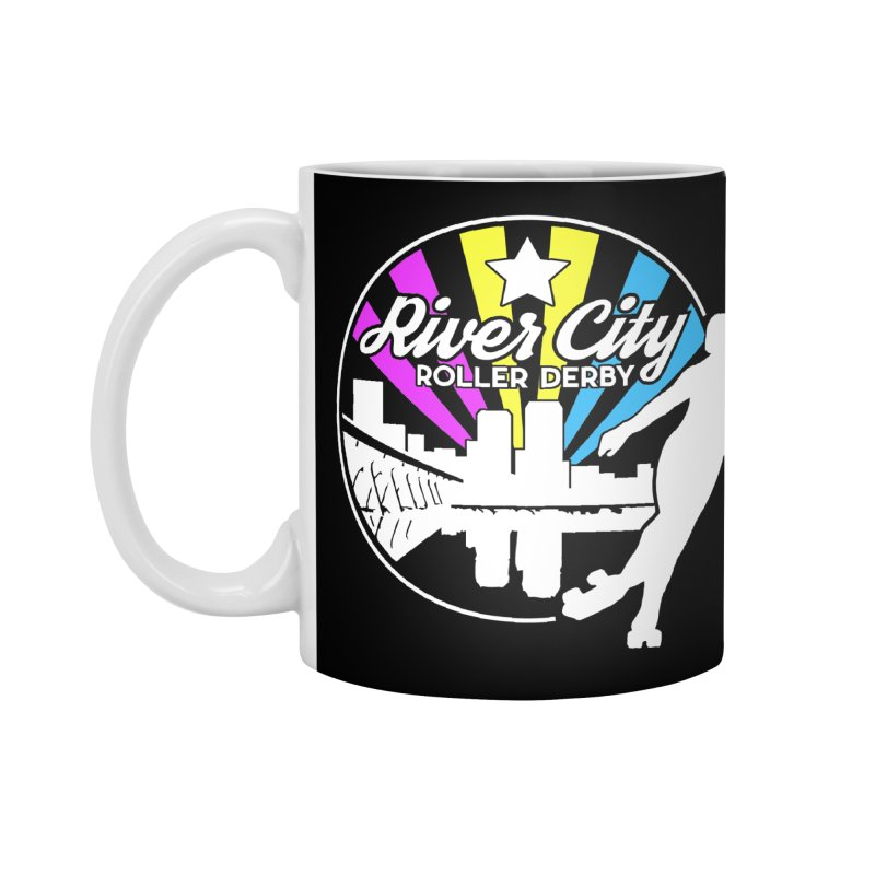 2019 Pansexual Pride (alt) Accessories Standard Mug by River City Roller Derby's Artist Shop