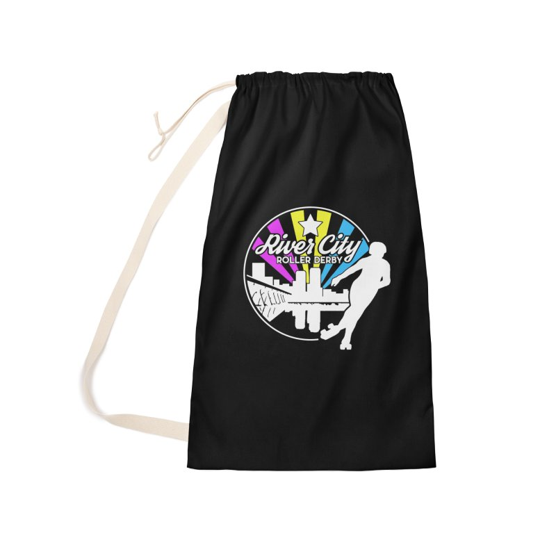 2019 Pansexual Pride (alt) Accessories Laundry Bag Bag by River City Roller Derby's Artist Shop