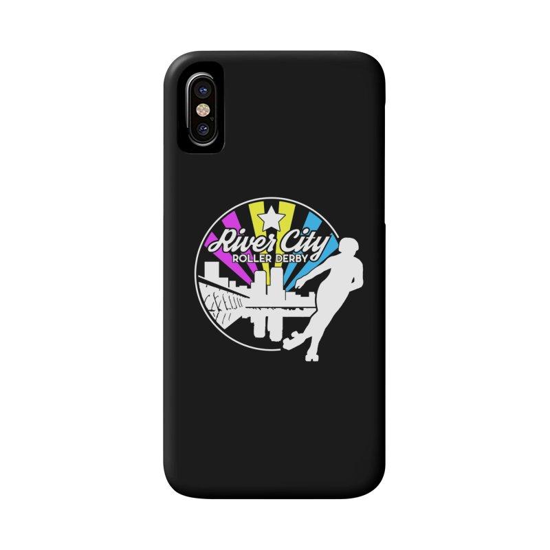 2019 Pansexual Pride (alt) Accessories Phone Case by River City Roller Derby's Artist Shop