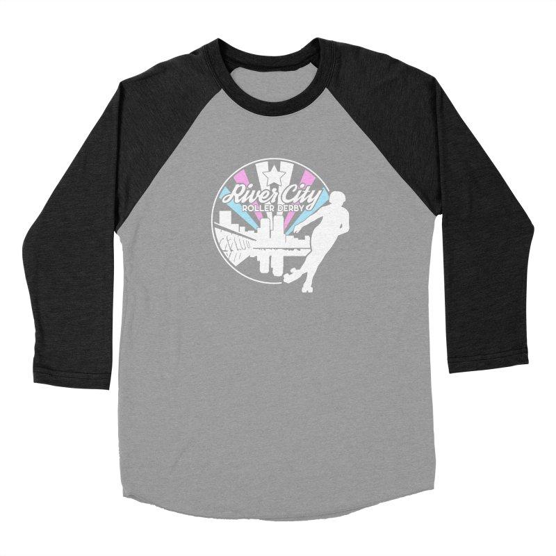2019 Trans Pride (alt) Men's Longsleeve T-Shirt by River City Roller Derby's Artist Shop