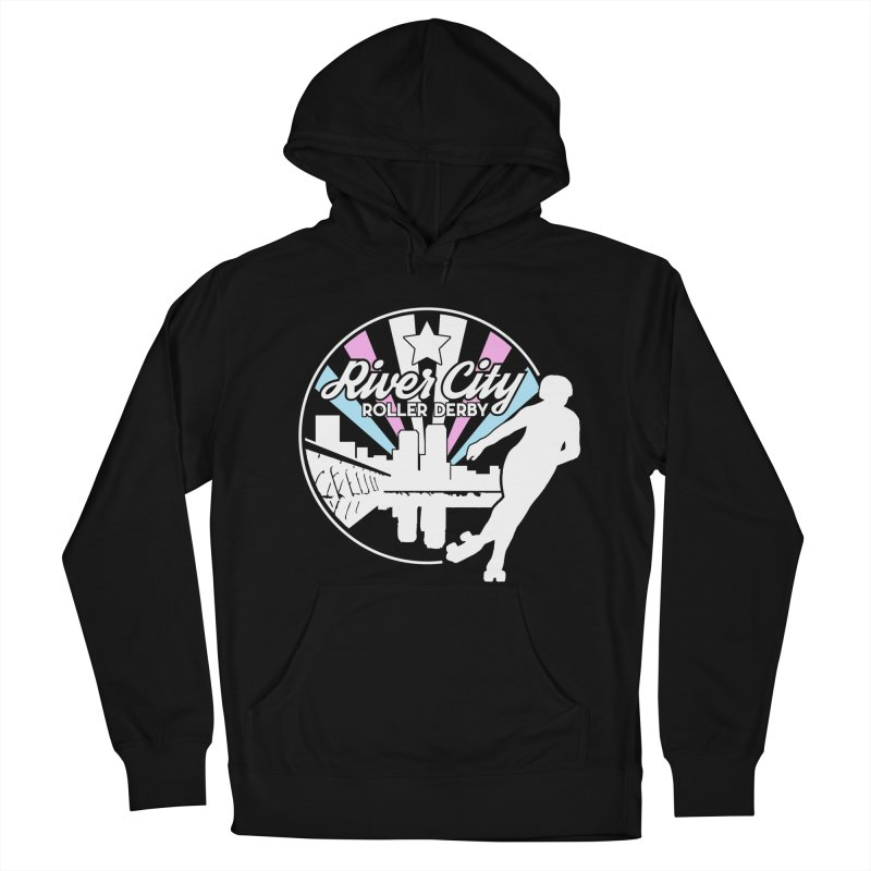 2019 Trans Pride (alt) Women's French Terry Pullover Hoody by River City Roller Derby's Artist Shop