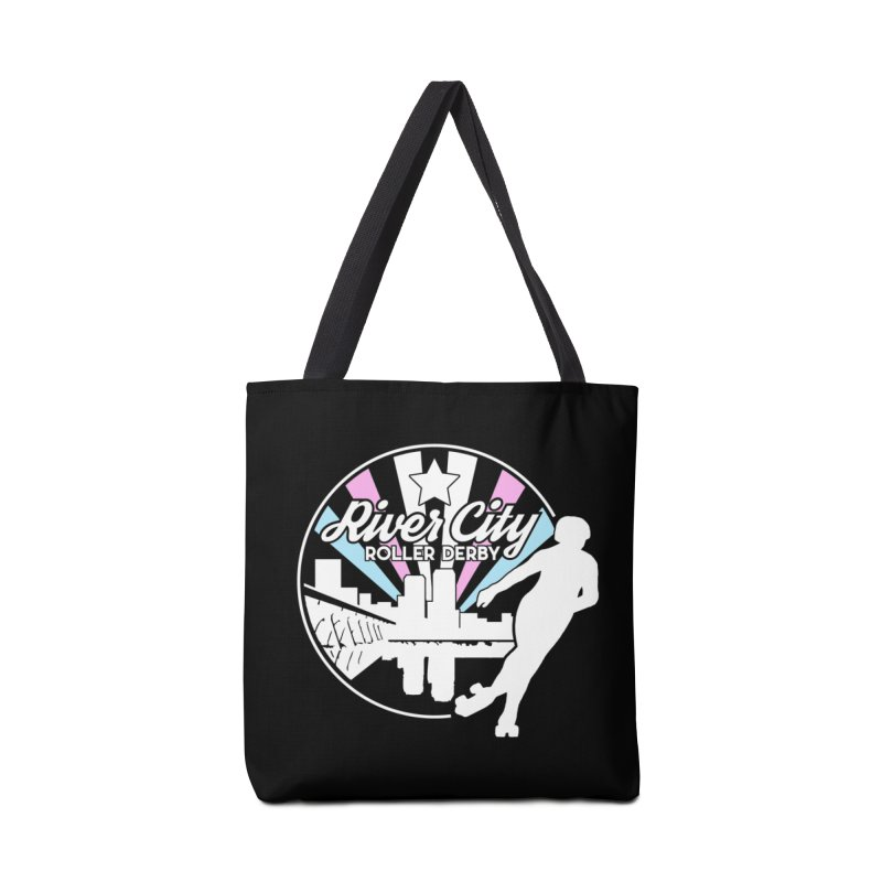2019 Trans Pride (alt) Accessories Tote Bag Bag by River City Roller Derby's Artist Shop