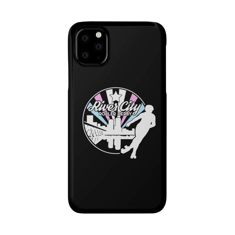 2019 Trans Pride (alt) Accessories Phone Case by River City Roller Derby's Artist Shop