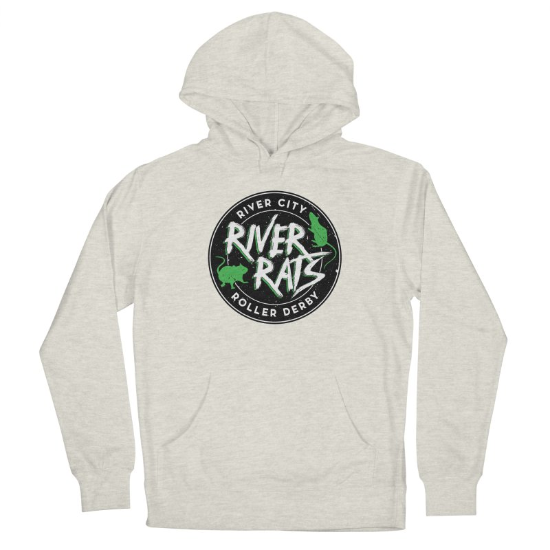 RCRD River Rats Men's Pullover Hoody by River City Roller Derby's Artist Shop
