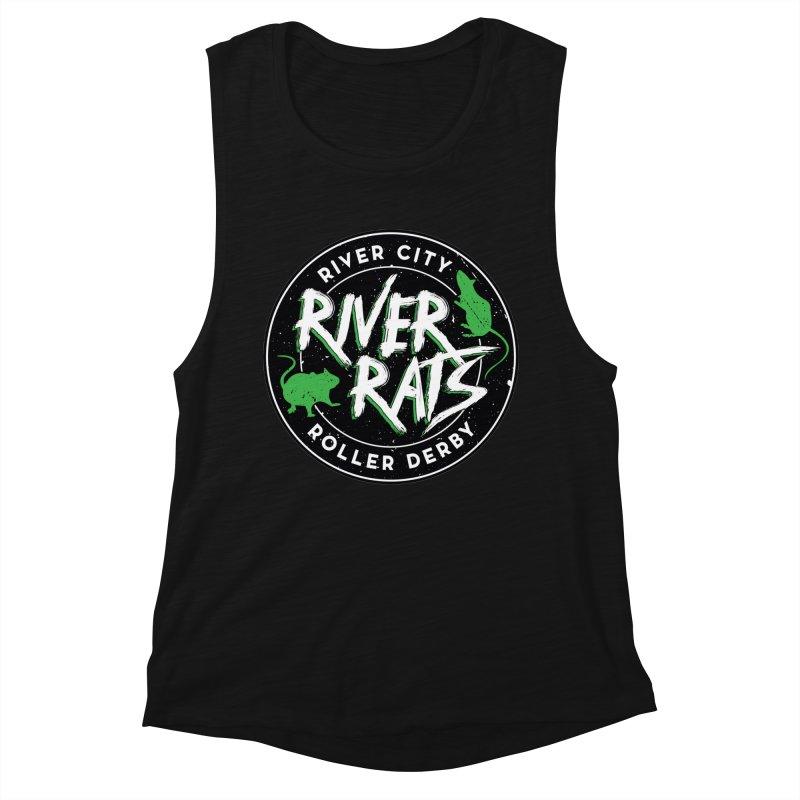 RCRD River Rats Women's Tank by River City Roller Derby's Artist Shop