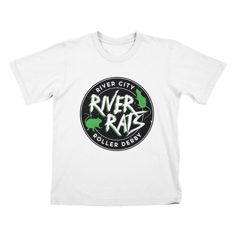 RCRD River Rats Kids T-Shirt by River City Roller Derby's Artist Shop